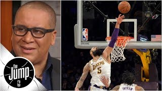 Does Tyson Chandler's hero block prove he's everything Lakers needed? | The Jump