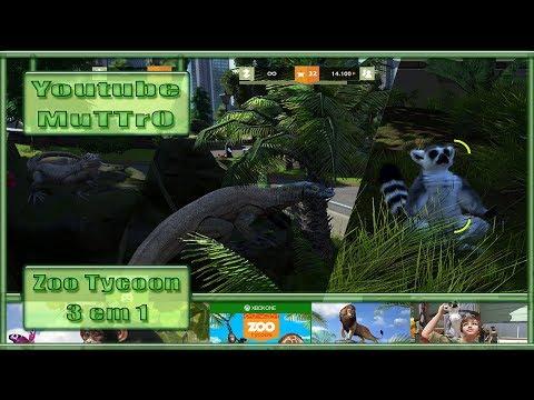 Zoo Tycoon - #16 - Iguana - Lagarto - Lêmure - Xbox One - PT-BR