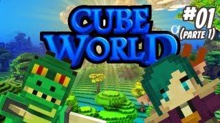 Ep. 1. - Monark e Leon no Cube World! (Parte 01)