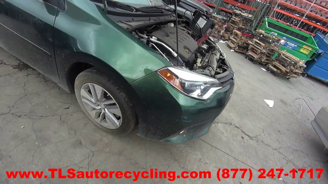 Parting Out 2014 Toyota Corolla Stock 6135br Tls Auto Recycling Fuse Box