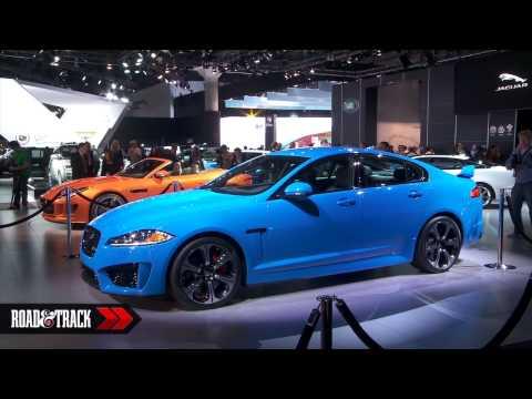 فيديو سيارة جاكوار XFR-S 2014