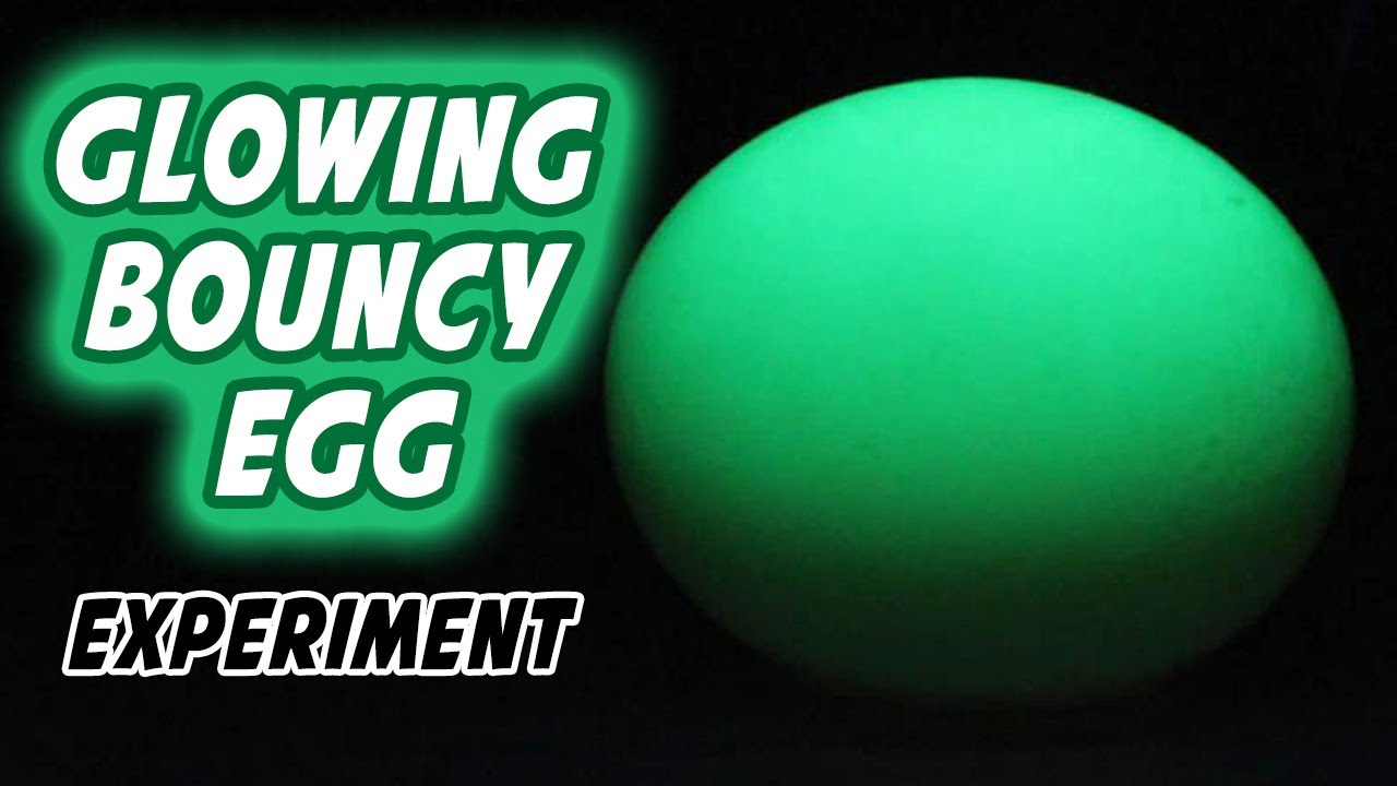 how to make glowing bouncy egg youtube. Black Bedroom Furniture Sets. Home Design Ideas