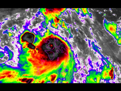 Typhoon Glenda / Rammasun passing Manila - Update 6A (July 16, 2014)
