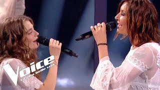 Michel Berger - Seras-tu là | Maëlle et Zazie | The Voice France 2018 | Finale
