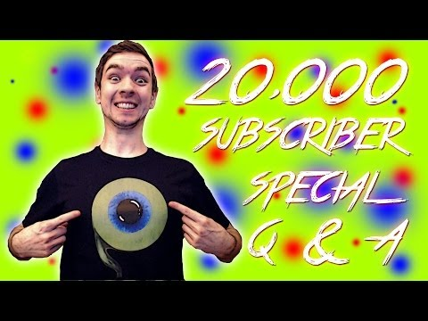 JACK'S 20,000 SUBSCRIBER Q&A SPECIAL!! - I answer YOUR questions