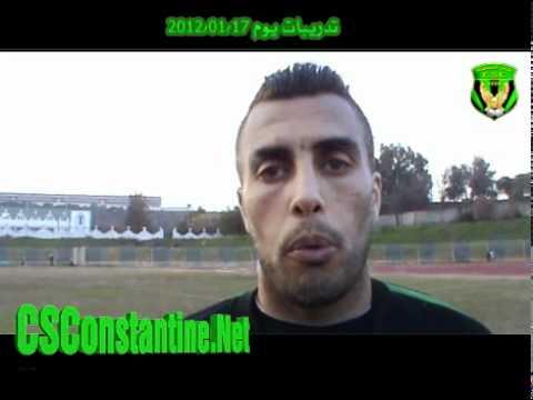 Yazid Mansouri sur CSConstantine.Net