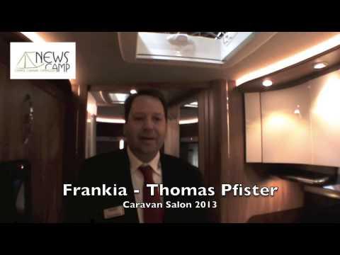 Beautiful Frankia Platin Edition Caravan Salon 2013  YouTube