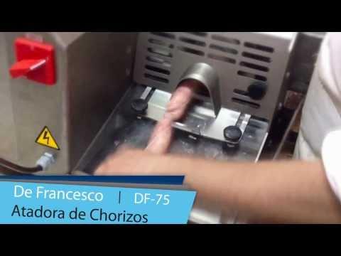 Atadora Chorizos DF-75 // De Francesco Equipamientos Frigoríficos