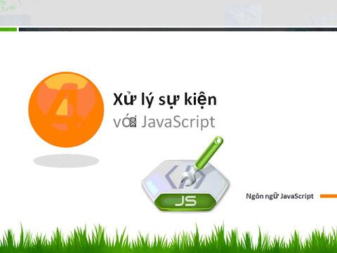Sử dụng javaScript trong thiết kế web