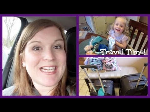 On our way to Disney World!! ♥ Vacation Vlog DITL ♥ (October 30, 2014)