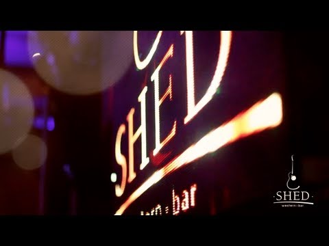 mistura louca - shed bar
