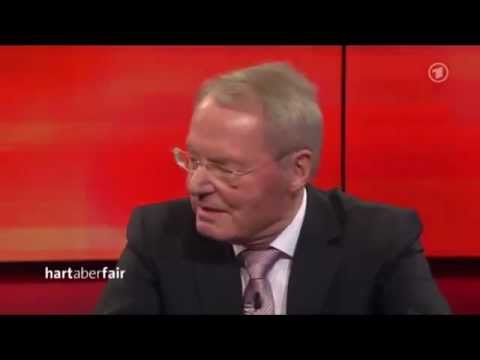 Alternative  fr Deutschland   AFD 2013 Olaf Henkel in der ARD-Sendung Hartaberfair