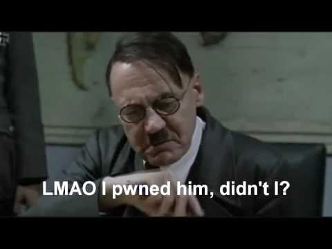 Hitler Reacts to Losing the Epic Rap Battle of History