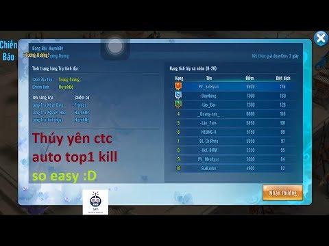 VLTK Mobile | Thúy yên công thành chiến auto top1 kill | Sin RG