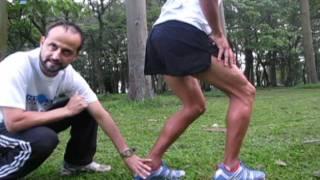 Ejercicios de estiramiento luego de correr