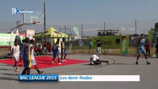 BAC LEAGUE 2015 : Les demi-finales