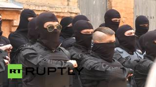 Ukraine: Azov Battalion Prepare For Mariupol Deployment