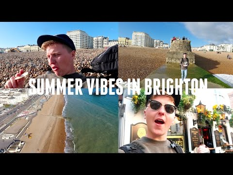 SUMMER VIBES IN BRIGHTON