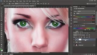Göz rengi değiştirme - Photoshop CS6