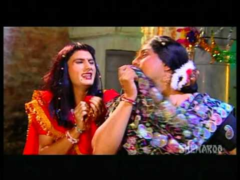 Gurchet Chittarkar Best Comedy Scenes - Men Dress Up As Women - Family Khusreyan Di
