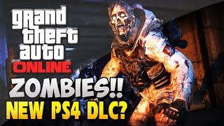 GTA 5 PS4 Exclusive Zombie Apocalypse DLC Theory GTA V