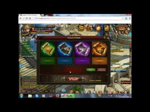 Mapa do tesouro - Legend online
