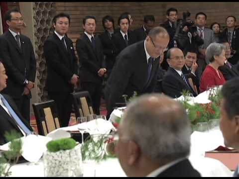 Dinner Hosted by H E Shinzo Abe, Prime Minister of Japan and MME. Akie Abe 12/13/2013