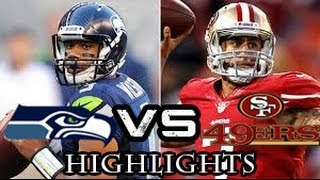 NFL Playoffs: Seattle Seahawks Vs San Francisco 49ers