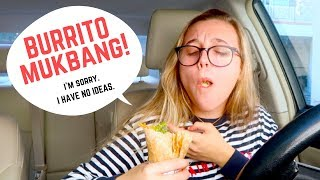 let's eat burritos and chat :D