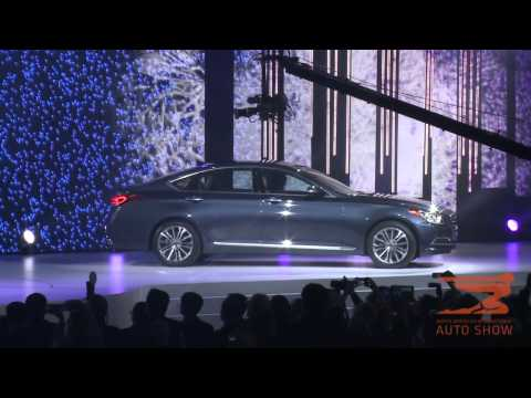 2015 Hyundai Genesis Debuts at 2014 North American International Auto Show in Detroit