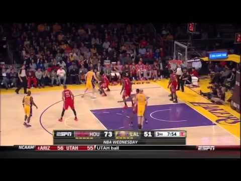 Dwight Howard chants 'Howard Sucks' | Houston Rockets vs Lakers February 19, 2014