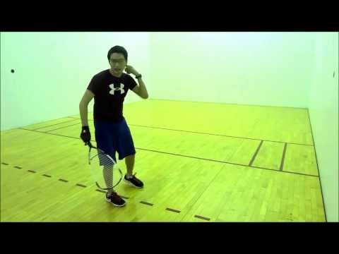 How to do a Kill Shot in Racquetball