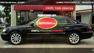 2008 Hyundai Azera LIMITED - for sale in MIAMI, FL 33169 videos