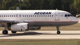 Airbus A320 Shortfield Takeoff At Airshow Full TOGA