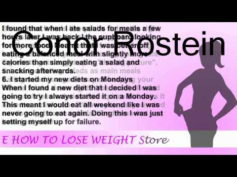 8 mistakes I made while trying to lose weight | How To Lose Weight Fast