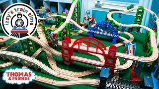 Thomas and Friends | BRIDGE ONLY CHALLENGE WITH THOMAS TRAIN | Fun Toy Trains for Kids with Brio
