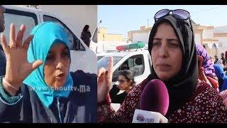 بالفيديو:ناجيات من فاجعة
