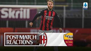 Post-match reactions | #MilanRoma