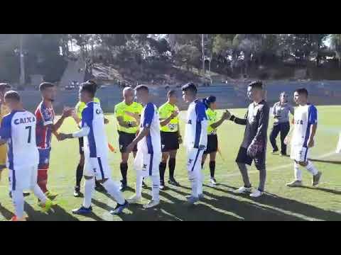 Taça Brasil BH 2018 entrada das equipes do Paraná -PR x Bahia BA