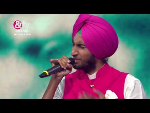 Parakhjeet Singh Vs Sharayu Date | Battle Round | The Voice India S2