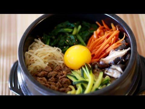 How to make Bibimbap - 비빔밥 - Cơm trộn Hàn Quốc