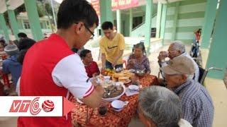 Nghẹn ngào bữa cơm ngày Vu Lan ở viện phong | VTC