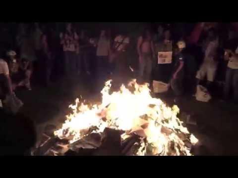 RIO CARNIVAL 2014, FEBRUARY 25, 2014 RIO PROTESTS, PAUL HODGE, Ch 21, SoloAroundWorld