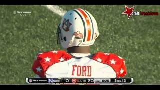 Dee Ford (DE/OLB, Auburn) 2014 Senior Bowl