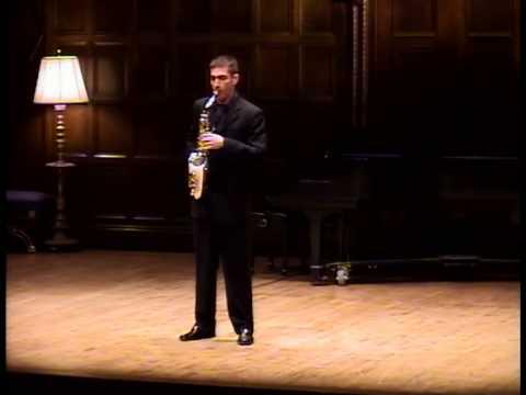 Sequenza IXb, by Luciano Berio / Doug O'Connor, alto saxophone – Part Two