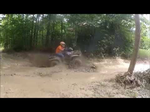 INSANE SxS's and ATV's bashing Through The Swamp At Limestone Dice Run!