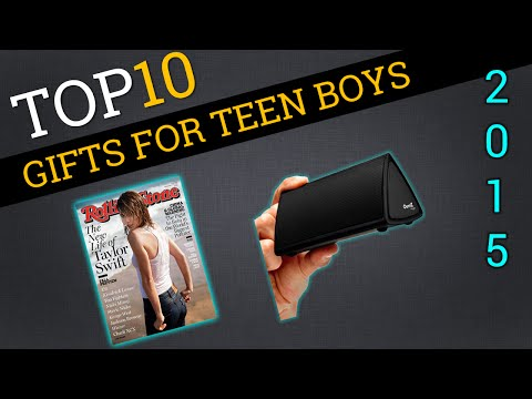 Top Ten Gifts for Teen Boys 2015 | Best Teenage Boy Gifts