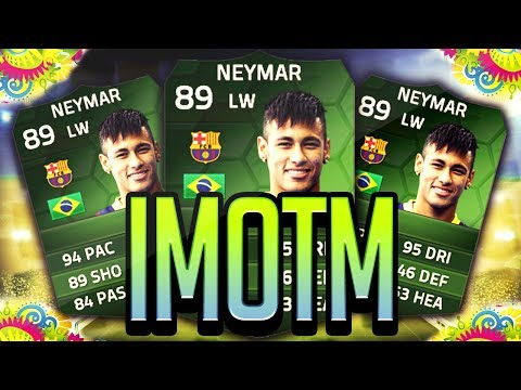 FIFA 14 - SIMOTM NEYMAR 89 - WORLD CUP BRAZIL TEAM - FIFA 14 ULTIMATE TEAM