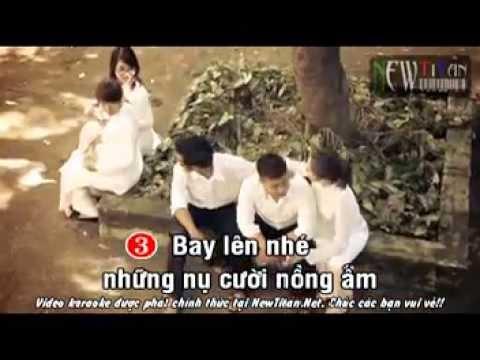 Karaoke] Bay lên nhé nụ cười  Miu Lê [Beat] 2