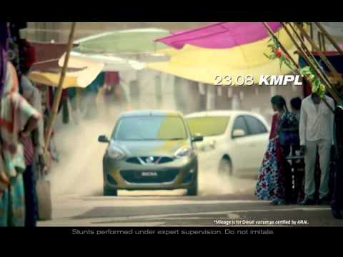 New TVC of Nissan Micra Car - Play Hard